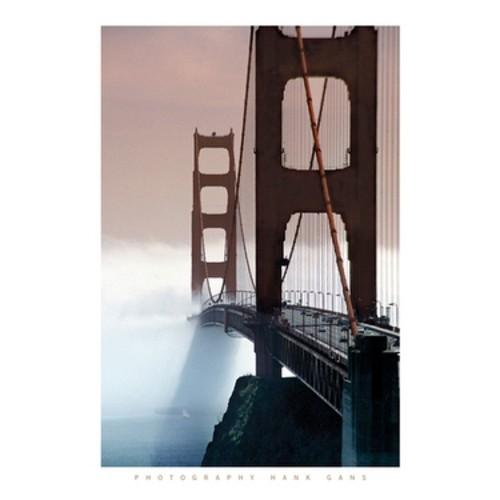 ''Golden Gate Bridge'' by Hank Gans Photography Art Print (31.5 x 23.5 in.)