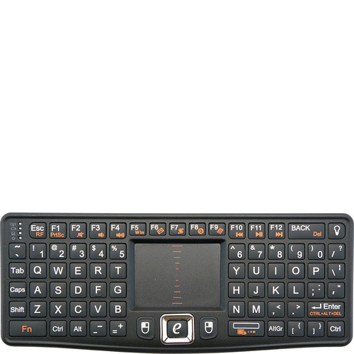 Visiontek CandyBoard Wireless 2.4GHz RF Mini Qwerty Keyboard and Center Touchpad