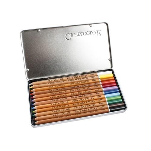 Cretacolor Pastel Pencils, Set Of 12