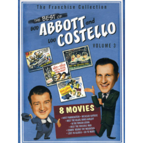 Abbott And Costello Meet The Monsters Collection (DVD)