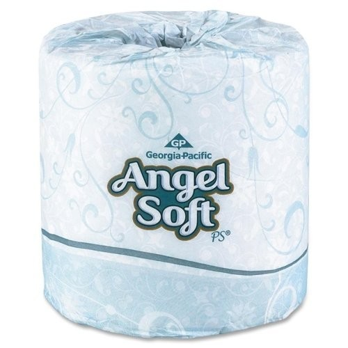 Angel Soft Professional Series Premium 2-Ply Embossed Toilet Paper by GP PRO, 16620, 450 Sheets Per Roll, 20 Rolls Per Convenience Case [1-(20 Rolls Per Case)]