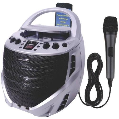 Karaoke USA GQ367 Portable Karaoke CDG Player [None, None]