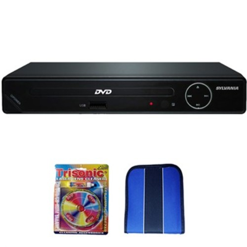 Sylvania HD 1080p DVD Player w/ USB Port - Essentials Bundle