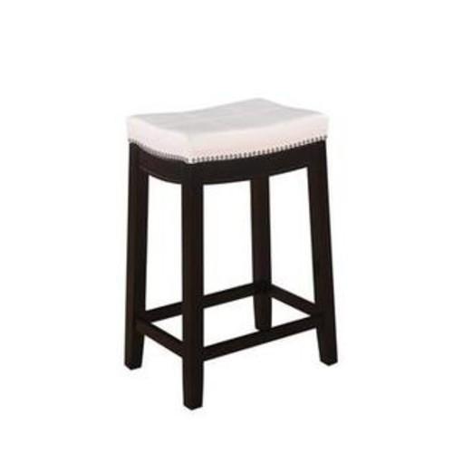 Linon Claridge Patches White Counter 24 Counter