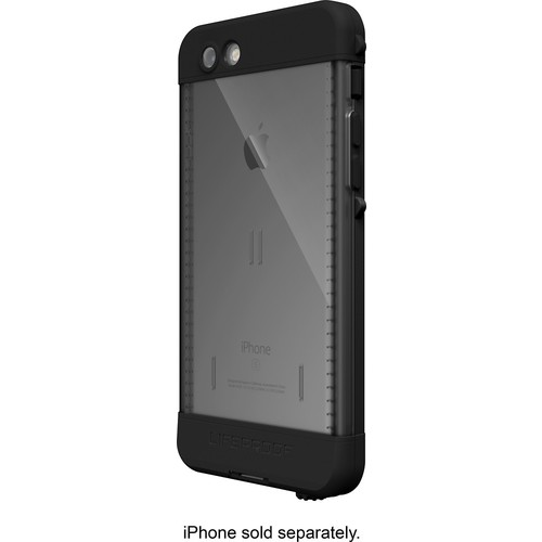 LifeProof - ND Protective Waterproof Case for Apple iPhone 6s - Black