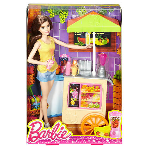 Barbie Smoothie Chef Doll and Playset