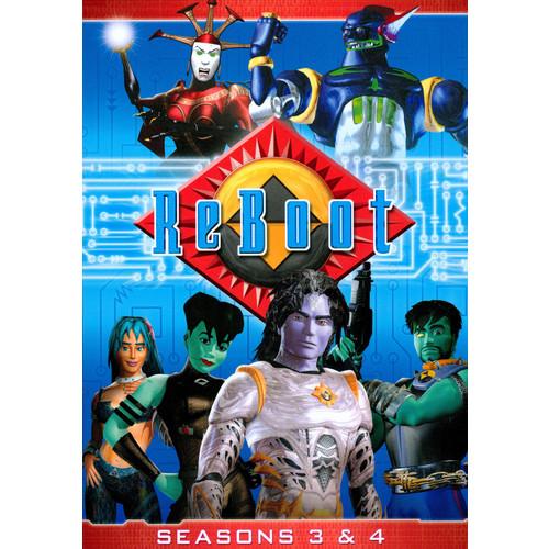 ReBoot: Seasons 3 and 4 [4 Discs] [DVD]