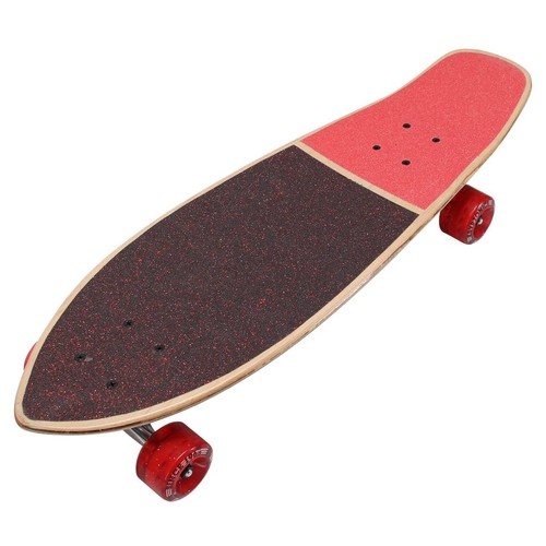 Kryptonics 27 inch Metal Flake Mini Cruiser Skateboard - Retro Flakes