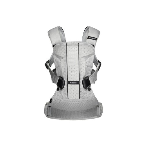 BabyBjorn One Air Baby Carrier - Silver/Mesh