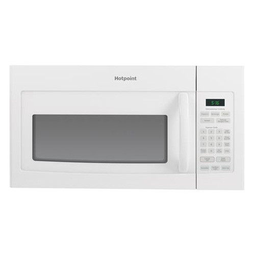 Hotpoint 1.6 Cu. Ft. Over-The-Range Microwave - White on White