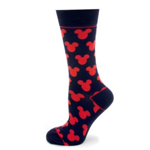 Disney Mickey Mouse Silhouette Socks in Blue