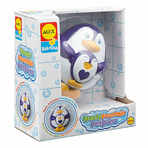 ALEX TOYS Rub A Dub Floaty Fountain Penguins Toy Playset - Unisex