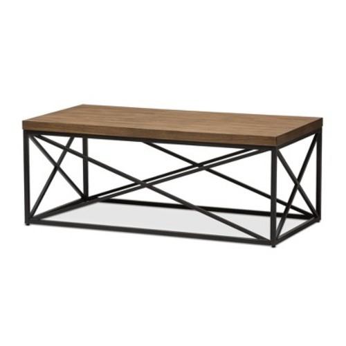 Baxton Studio Holden Industrial Coffee Table
