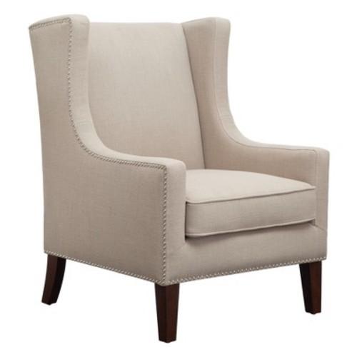 Colette Wing Chair Linen - JLA