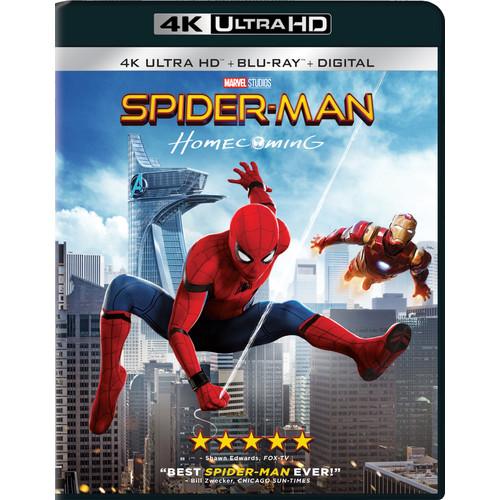 Spider-Man: Homecoming (4K Ultra / Blu-ray / Digital)