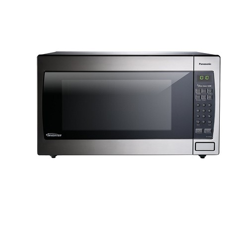Panasonic 2.2 cu. ft. Countertop Microwave in Stainless Steel Built-In Capable with Sensor Cooking and Inverter Technology