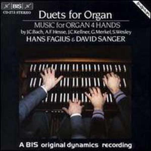 Duets for Organ (Audio CD)