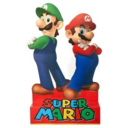 Super Mario Party - Mario & Luigi Stand Up