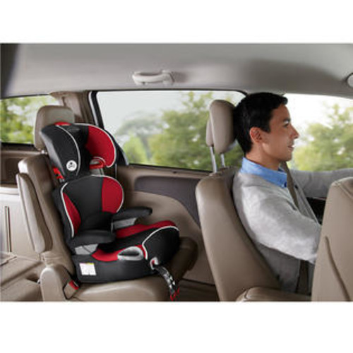 Graco Affix Youth Booster Seat with Latch System in Atomic