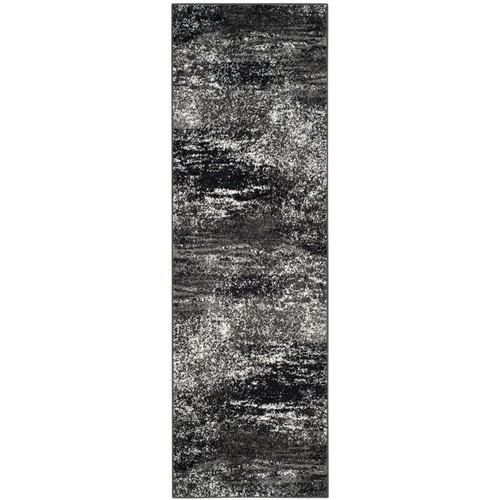 Safavieh Adirondack Silver/Black 2 ft. 6 in. x 8 ft. Runner