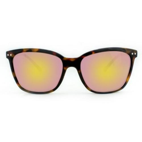 Women's Square Tort Sunglasses - Brown