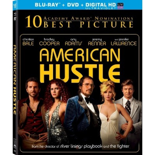 American Hustle [2 Discs] [Includes Digital Copy] [UltraViolet] [Blu-ray/DVD] COLOR DHMA/DD5.1/DD2