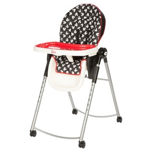 Disney Mickey Mouse Adjustable High Chair - Mickey Silhouette