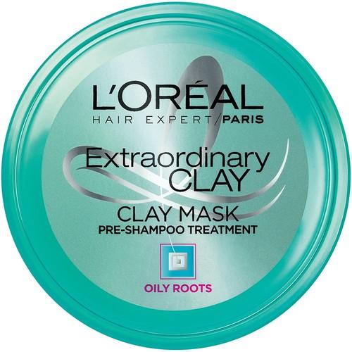 L'Oreal Hair Expert Extraordinary Clay Pre-Shampoo Mask, 5.1 fl. oz.