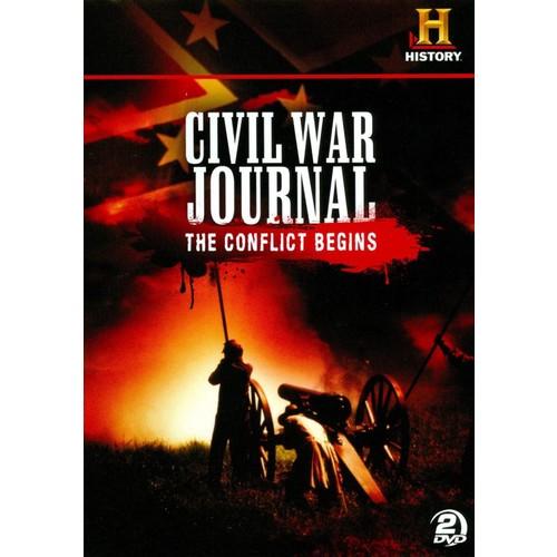 Civil War Journal: The Conflict Begins [2 Discs] [DVD]