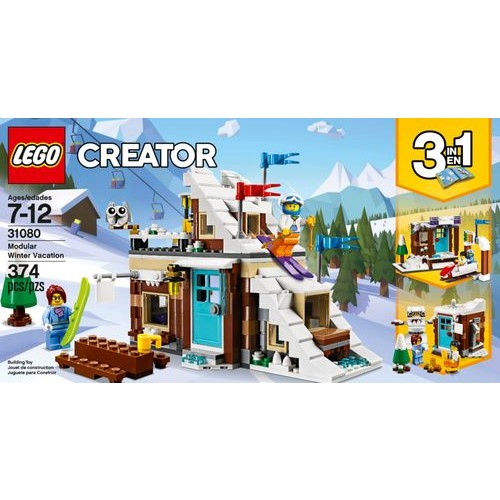 LEGO - Creator 3-in-1 Modular Winter Vacation