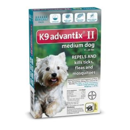 Bayer K9 Advantix Ii Medium Dog, 6PK 11-20LB