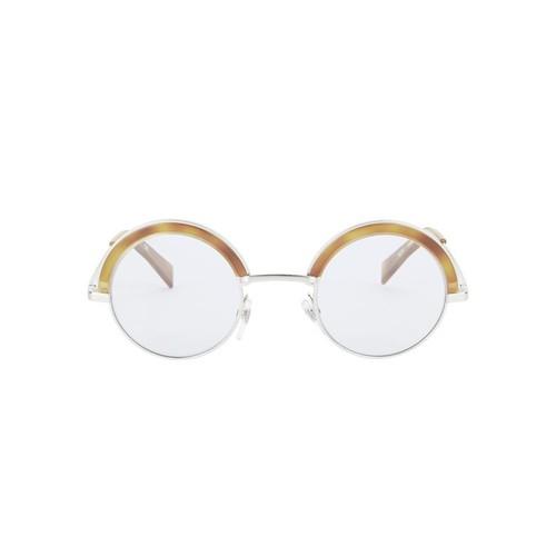 OLIVER PEOPLES For Alain Mikli Blue Wash Round Sunglasses