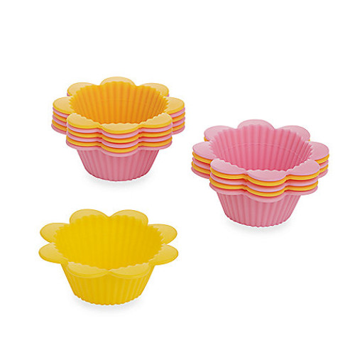 Wilton 12-Count Flower Fun Baking Cups