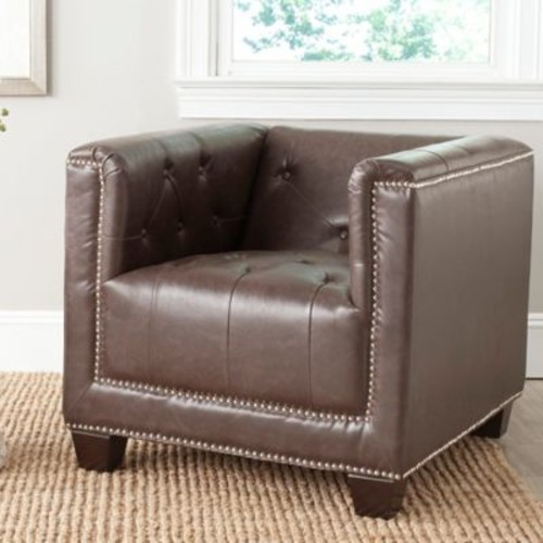 Safavieh Bentley Club Chair in Antique Brand