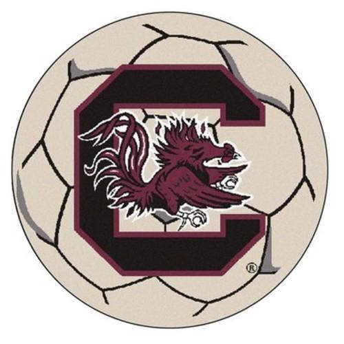 Wyoming Soccer Ball Rug