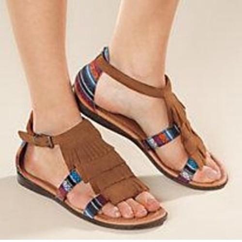 Brown Sandal ,