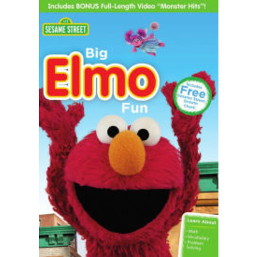 Sesame Street: Big Elmo Fun/Monster Hits! (dvd_video)