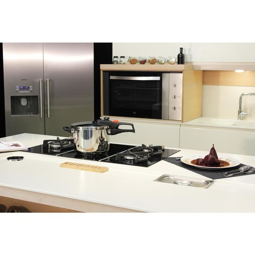 Magefesa Practika Plus 6.3 Qt. Stainless Steel Stovetop Pressure Cookers