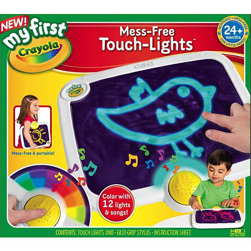 My First Crayola Mess Free Touch Lights Activity Pad