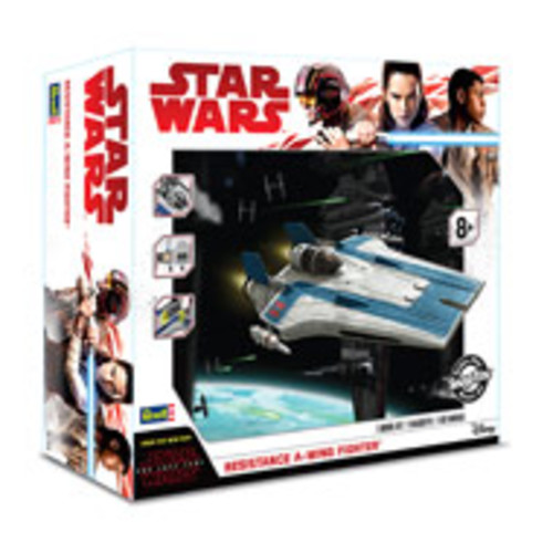 Star Wars: The Last Jedi Resistance A-Wing Fighter Model Kit