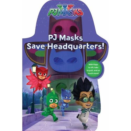 PJ Masks Save Headquarters! Board Book