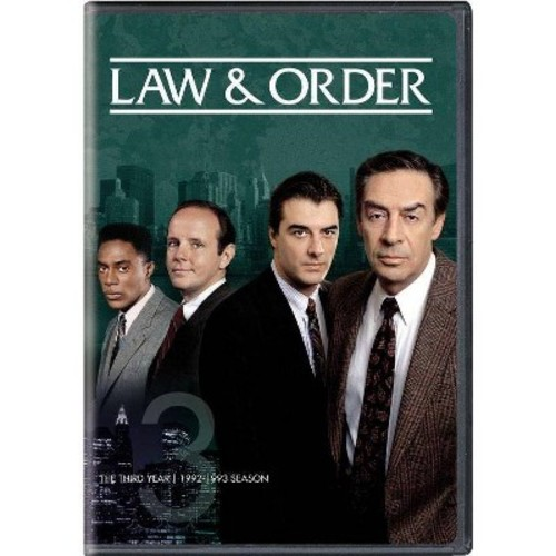 Law & order:Third year (DVD)