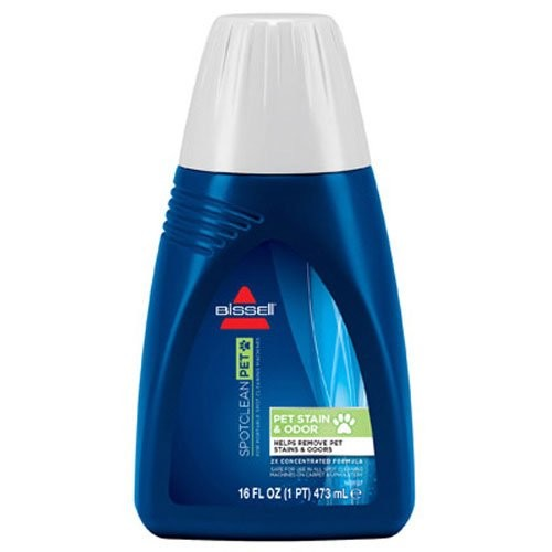 BISSELL 2X Pet Stain & Odor Portable Machine Formula, 16 ounces, 74R71 [16-Ounce]