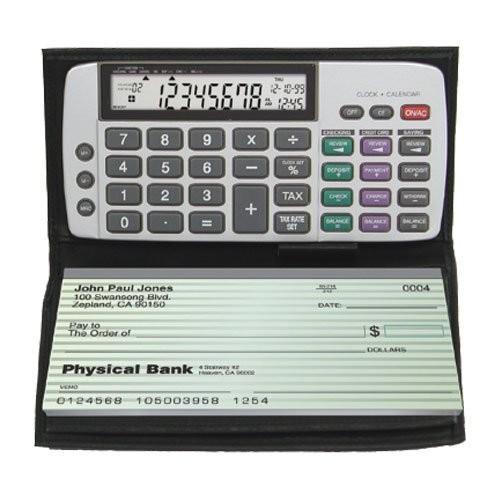 Datexx DB-413 Checkbook Calculator [Black, One Size]