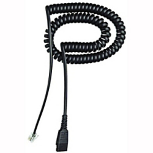 Jabra Headset Coil Cable