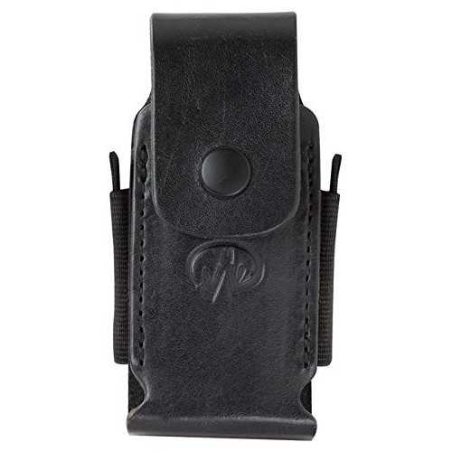 Leatherman - Premium Leather Sheath with Pockets, Fits 4
