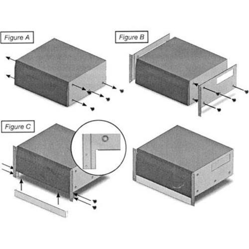 Denon Rack Mount Kit for AVR-1713 AV Receiver & DBT-3313UDCI Audio/Video Player RMT3313