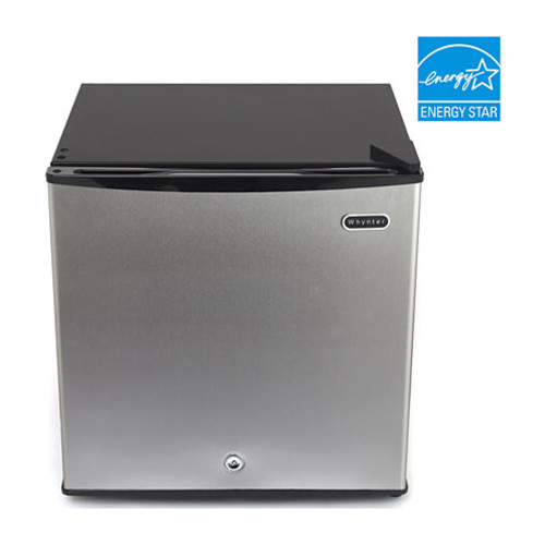 CUF-112SS Whynter 1.1 cu. ft. Energy Star Upright Freezer with Lock  Stainless Steel