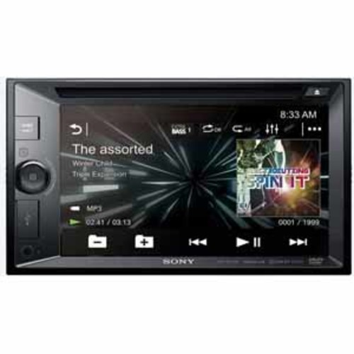 Sony 6.2 LCD DVD Receiver with Smart Touch Screen