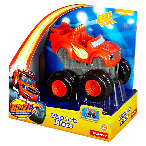 Blaze and the Monster Machines Slam and Go Blaze - Red
